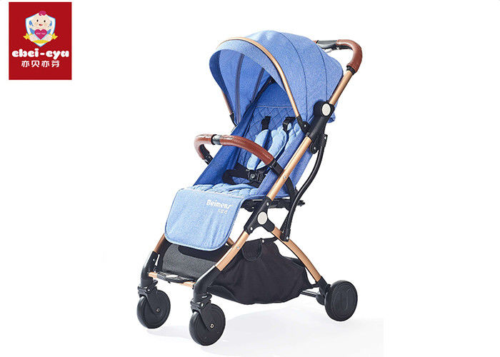 Carry Handle Baby Buggy Stroller , Foldable Infant Toddler Stroller With Packing Bag