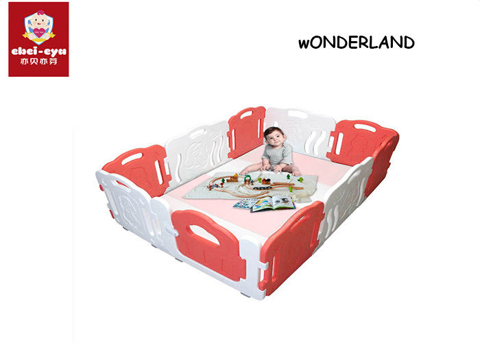 8pcs Child Safety Play Yard Cartoon Household Indoor Baby Fences
