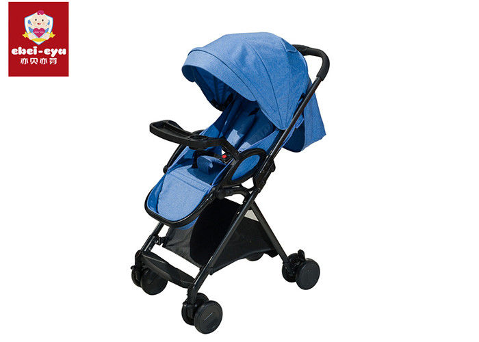 Aluminium Alloy Frame Tube Travel System Strollerssingle Layer Canopy For Newborn
