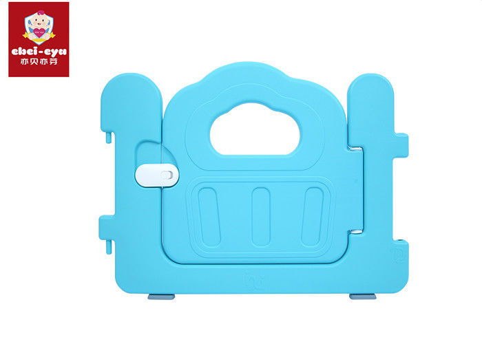 HDPE Material Baby Safety Play Yard , Safety Play Fence With Small Door Opening